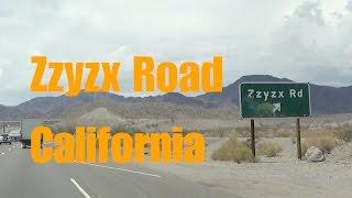Zzyzx Road California I15