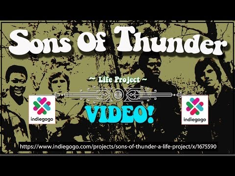 Sons Of Thunder - Rolling Stones - Stevie Wonder - Indiegogo Campaign