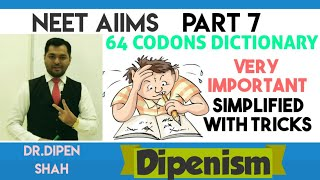 CODON TRICKS | START CODON | STOP CODON - GENETIC CODE TRICKS #NEET #BIOLOGY #Dipenism