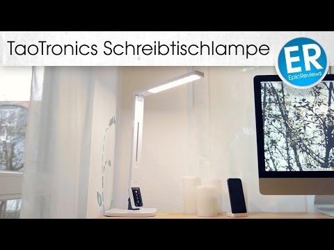 Schreibtischlampe mit verschiedenen Lichtstimmungen - TaoTronics Tageslichtlampe im Test!