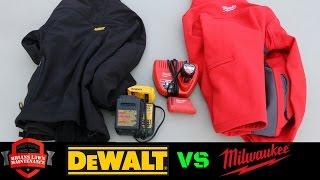 Milwaukee Vs DeWALT - Heated Jackets - Which Is Better?