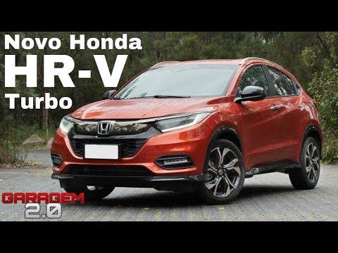 Novo Honda HR-V Turbo Touring 2020 - (Garagem 2.0)