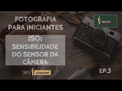 Sensibilidade ISO do sensor da câmera (Ep3)