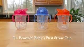 Dr. Brown's Baby's First Straw Cup