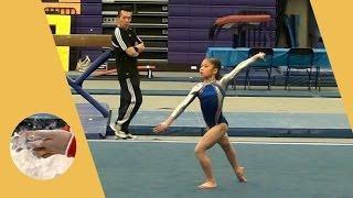 Kaitlyn Lam - Level 7 Gymnastics Floor Routine 9.700 - State Champion