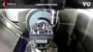 Vortex Machining UNIMAX S7958 F3505 on Hermle C22