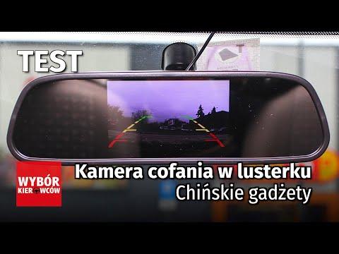 Kamera cofania w lusterku - Chińskie gadżety (cz.2) - Motor TEST PL