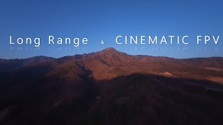 Long Range FPV Drone Flight, Mountain Surfing - FPV Mountain Surfer