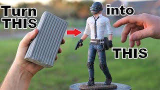 How To sculpt the PUBG guy    (from PUBG Mobile)