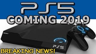 PlayStation 5 (PS5) - Coming 2019! -  PS5 Graphics & Official Trailer (4K Gameplay) To Follow