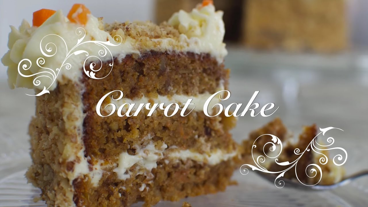 Carrot cake en español | How to make carrot cake in spanish | Carrot cake español chefdemicasa