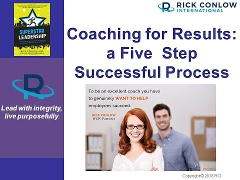 Leadership Coaching for Results: A 5 Step Successful Process ...