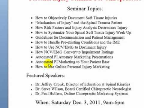 Chiropractic Seminars