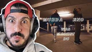Producer REAGIERT auf ENO feat. MURDA - Was machst du (Official Video)