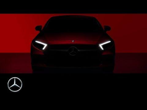 Mercedes Benz  Cls Class Coupe Купе класса C - рекламное видео 1