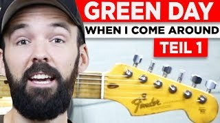 Green Day - When I Come Around - Gitarre Lernen - Tutorial Teil 1 - Einfach & Auf Deutsch