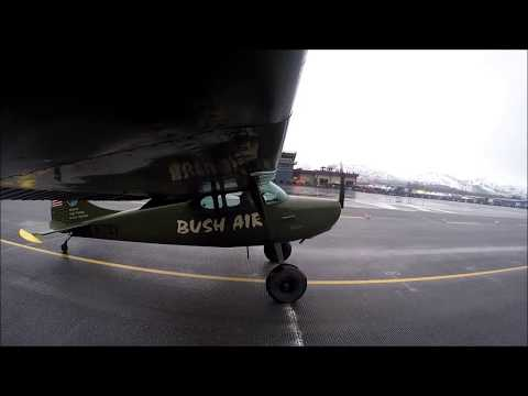 Valdez STOL 2019. Bush Air C170 wingcam.