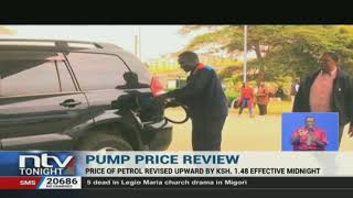 Nairobi motorists using super petrol will pay one shillings and 48