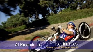 Al Kovach, Disability Awareness Month 2013 - Local Heroes