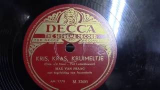 Max van Praag: Kris,Kras,Kruimeltje. (1949).