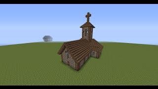 Как Построить Церковь в Майнкрафте