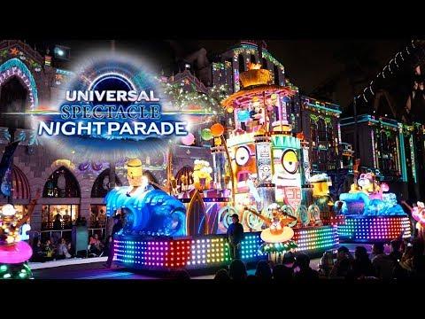【4K撮影】USJ ユニバーサル スペクタクル ナイトパレード Universal Spectacle Night Parade