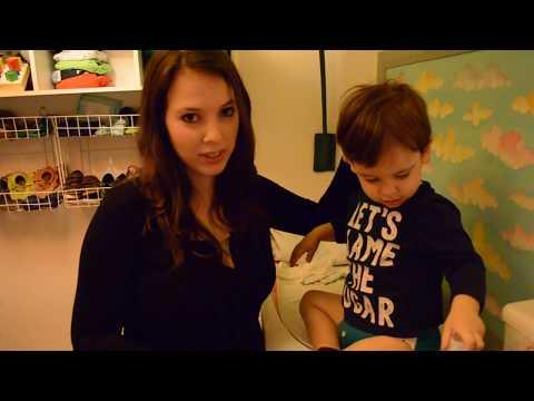 Ragababe Tela de Amor video Pañales de Tela