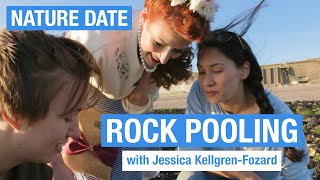 Nature Date with Jessica Kellgren-Fozard - rock pooling by Sally Le Page