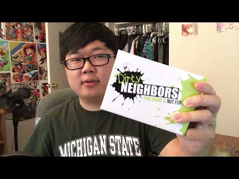 Board Game Reviews Ep #7: DIRTY NEIGHBORS