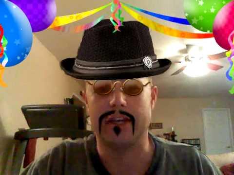 Super car video Happy Birthday Libby