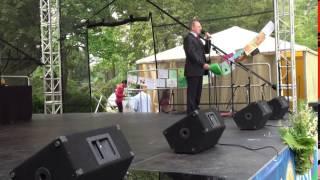 """00202-1 Starptautiskā Jogas diena LU Botāniskajā dārzā Rigā 21.06.2016"""""""