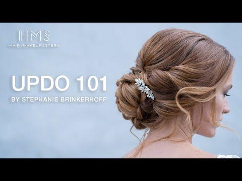 Updo 101 by Stephanie Brinkerhoff   Kenra Professional