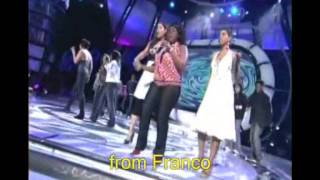 American Idol finalists sing Where Did Our Love Go ?, Baby love & Stop, In The Name Of Love