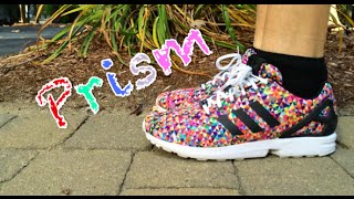"Adidas ZX Flux ""Prism"" Review + On Feet"