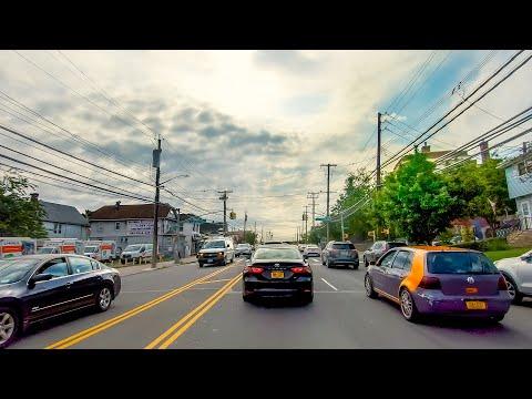 New York 4K | Driving In Staten Island | USA Road Trip
