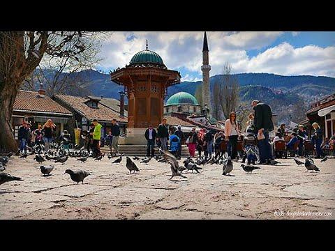 The City of Sarajevo, Bosnia and Herzegovina 2019 (Сарајево)