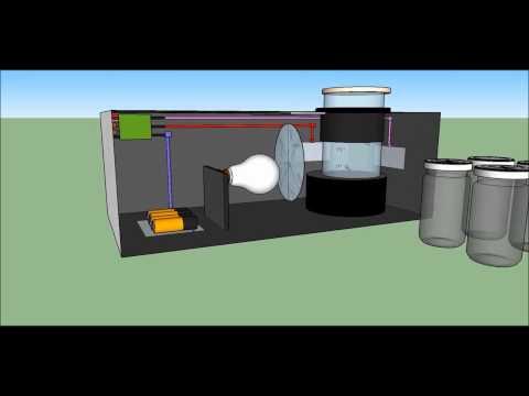 Maqueta virtual de un turbidímetro portátil