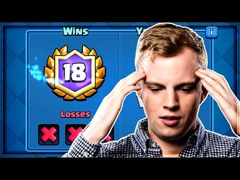 Clash Royale - I GOT 18 WINS...