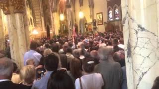 Powitanie Prezydenta Andrzeja Dudy w Kosciele Stanislawa Kostki, NY