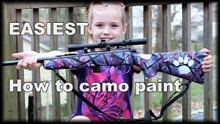 Easy Muddy Girl Camo Paint Job