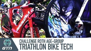 Triathlon Bike Tech From Challenge Roth | Age-Group Transition Tour