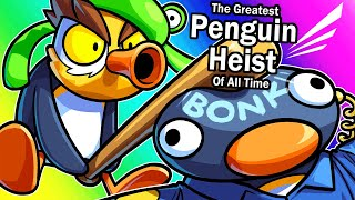 The Greatest Penguin Heist of All Time - Thieving For Nogla's Birthday! (NOOT NOOT)