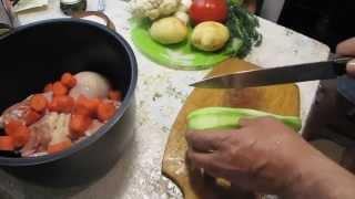 Курица с овощами в мультиварке - рецепт