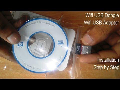 wifi usb dongle | step by step Quantum QHM150 wifi usb adapter installation {Hindi} 2018