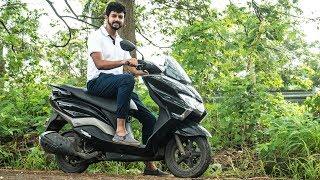 Suzuki Burgman Street Review - Super Comfortable Scooter | Faisal Khan