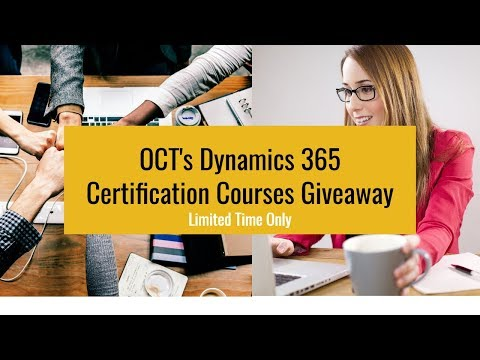 #WIN Microsoft Dynamics 365 Certification Courses - Free ...