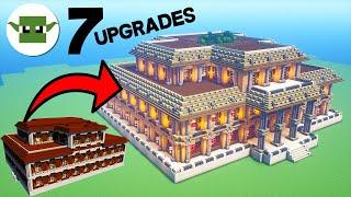 Minecraft Mansion 7 Upgrades In Minecraft Minecraftvideos Tv