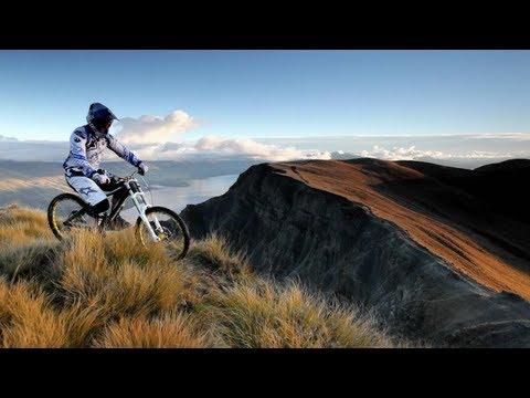 רכיבת אופניים מטורפת בניו זילנד!
