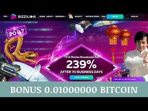 Bizzilion.com отзывы 2019, mmgp, конкурс, Bonus Notification 0.01000000 Bitcoin