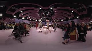 Mulberry AW18 catwalk in 360 VR | London Fashion Week